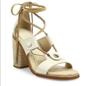 Rag and Bone Eden leather block heel sandal